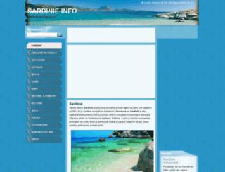 sardinieinfo.webnode.cz screenshot