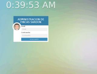 sardon.comunys.com screenshot
