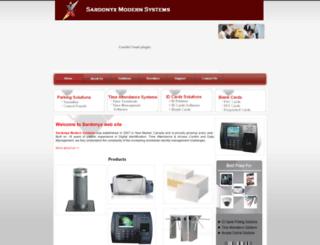 sardonyx.net screenshot