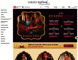 sareesbazaar.com screenshot