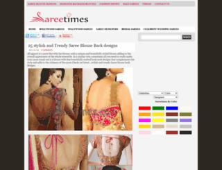 sareetimes.com screenshot