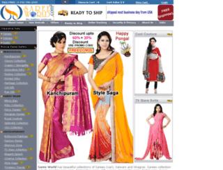 sareeworld.com screenshot