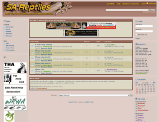 sareptiles.co.za screenshot