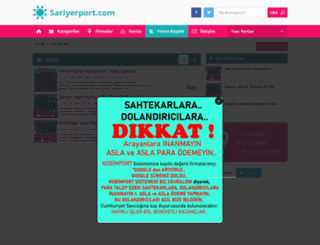 sariyerport.com screenshot