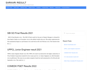 sarkari-result.co.in screenshot