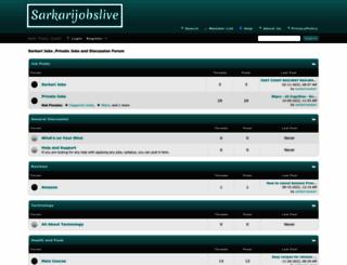sarkarijobslive.com screenshot
