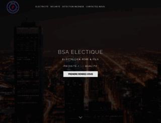 sarl-bsa.com screenshot
