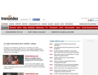 sarm.transindex.ro screenshot