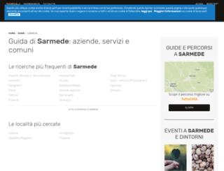 sarmede.paginegialle.it screenshot