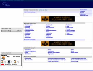sarnia.com screenshot