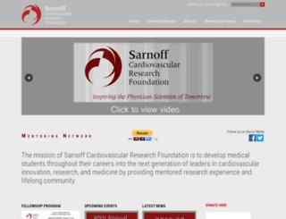 sarnofffoundation.site-ym.com screenshot
