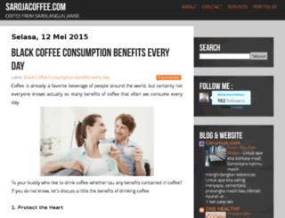 sarojacoffee.blogspot.com screenshot