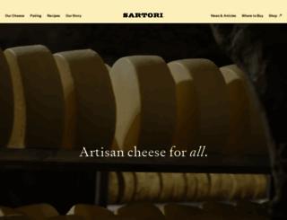 sartoricheese.com screenshot