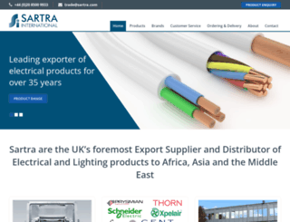 sartra.com screenshot