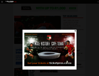 sarugbymag.co.za screenshot