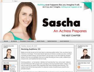 sascha-anactressprepares.blogspot.com screenshot