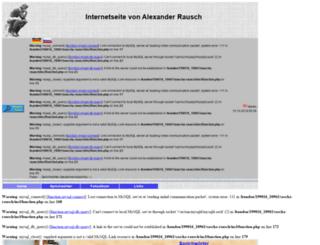 sascha-rausch.de screenshot