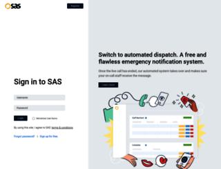 sasdesk.com screenshot