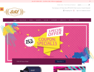 sashair.com.au screenshot