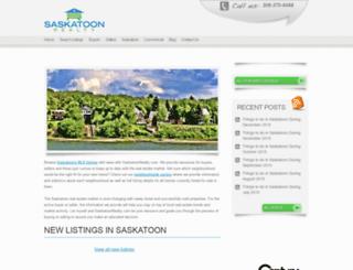 saskatoonrealty.com screenshot