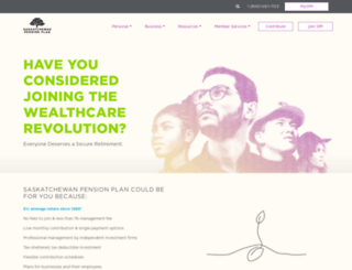 saskpension.com screenshot