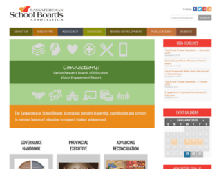 saskschoolboards.ca screenshot