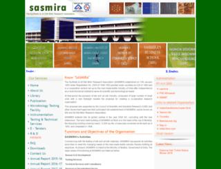 sasmira.org screenshot