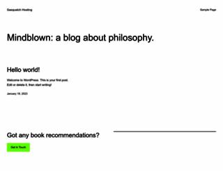 sasquatchhosting.com screenshot