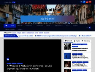 sassarinotizie.com screenshot