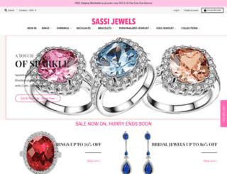sassijewels.com.au screenshot