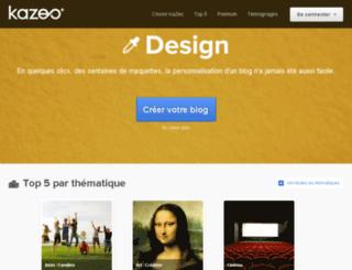 sassypoet8475.kazeo.com screenshot