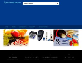 sastimedicine.com screenshot