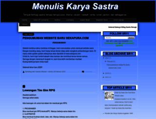 sastraremaja11.blogspot.com screenshot