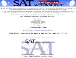 sat-antennedienst.nl screenshot