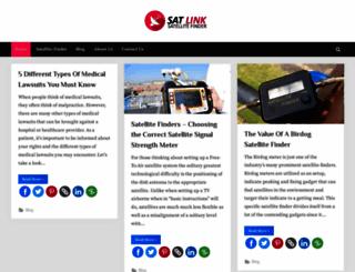 sat-link.com.au screenshot