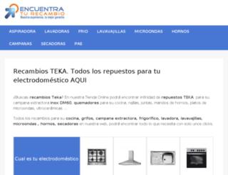 sat-serviciotecnicoteka.es screenshot