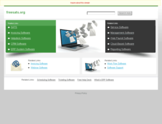 sat.freesats.org screenshot