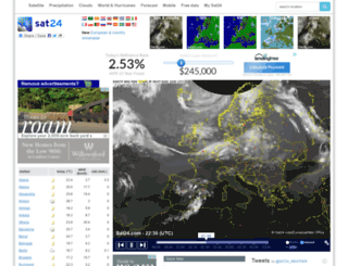 sat115.sat24.com screenshot