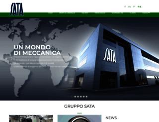 sata-group.com screenshot