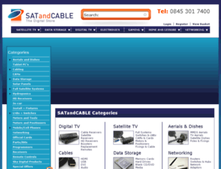 satandcable.com screenshot
