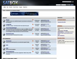 satbox.nl screenshot