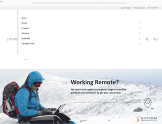 satcomresources.com screenshot