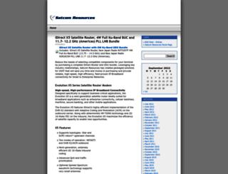 satcomresources.wordpress.com screenshot
