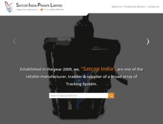 satcop.in screenshot