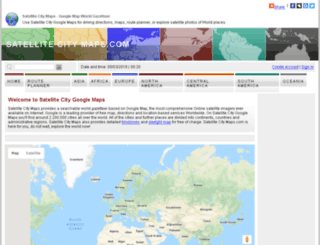 satellitecitymaps.com screenshot