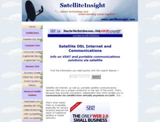 satelliteinsight.com screenshot