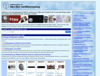 satellitenempfang.info screenshot