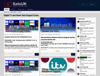 satellites.co.uk screenshot