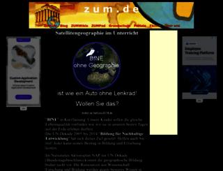 satgeo.zum.de screenshot