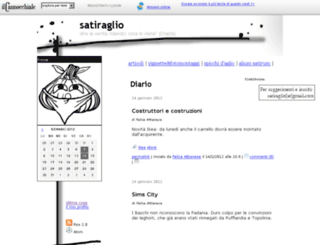 satiraglio.ilcannocchiale.it screenshot
